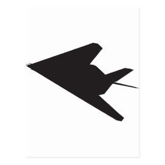 F-117隠しだての戦闘機 ポストカード