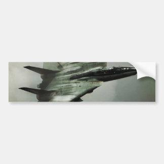 F-14雄猫のジェット戦闘機 バンパーステッカー