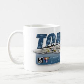 F-14雄猫VF-84すてきなロジャースのマグ コーヒーマグカップ