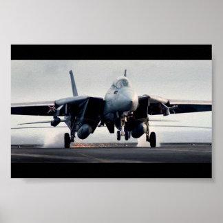 F-14 Landind ポスター