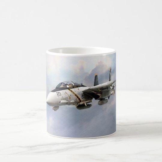 """F-14A TOMCAT JOLLY ROGERS""mug コーヒーマグカップ"