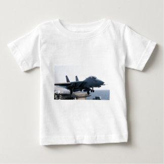 F-14D VF-213の世界的に有名で黒いライオン ベビーTシャツ