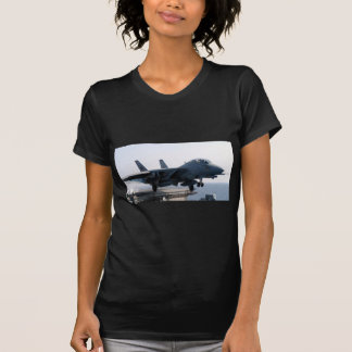 F-14D VF-213の世界的に有名で黒いライオン Tシャツ