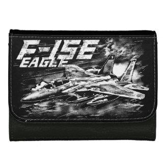 F-15ワシの中型の革財布 ウォレット