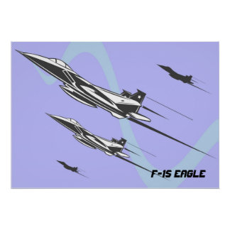 F-15ワシ ポスター