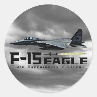 F-15ワシ ラウンドシール