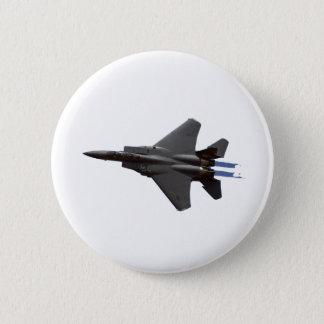 F-15ワシFlght 5.7cm 丸型バッジ