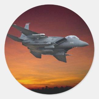 F-15上空飛行アリゾナ ラウンドシール