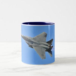 F-15戦闘機のマグ ツートーンマグカップ
