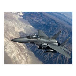 F-15殴打のワシ はがき