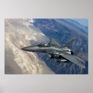 F-15殴打のワシ ポスター