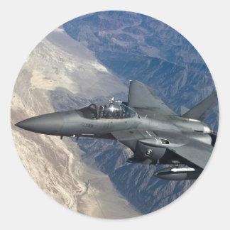 F-15殴打のワシ ラウンドシール