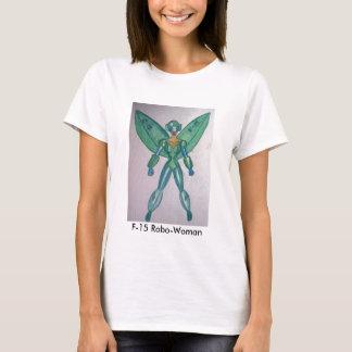 F-15 Robo女性のTシャツ! Tシャツ
