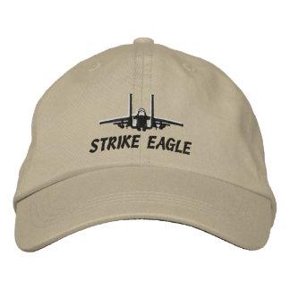 F-15Eのゴルフ帽子 刺繍入りキャップ