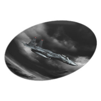 F-15Eの殴打のワシのメラミンプレート プレート