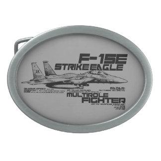 F-15Eの殴打のワシの楕円形のベルトの留め金 卵形バックル
