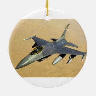 F-16戦いの《鳥》ハヤブサのブロック40の航空機 セラミックオーナメント