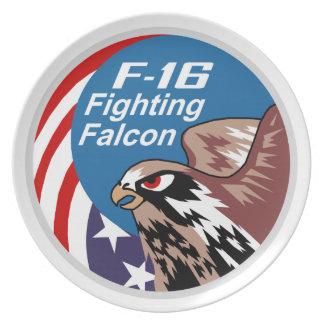 F-16戦いの《鳥》ハヤブサのプレート プレート