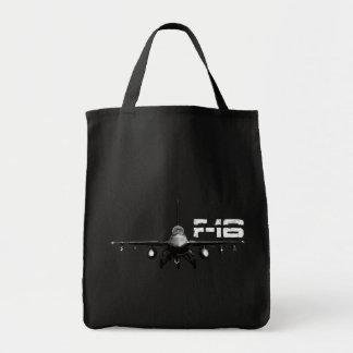 F-16戦いの《鳥》ハヤブサの食料雑貨の戦闘状況表示板 トートバッグ