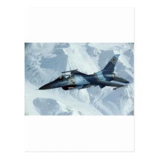 F-16戦いの《鳥》ハヤブサ はがき