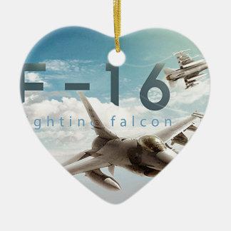 F-16戦いの《鳥》ハヤブサ セラミックオーナメント