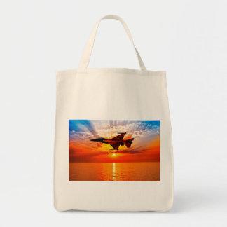 F-16戦いの《鳥》ハヤブサ トートバッグ