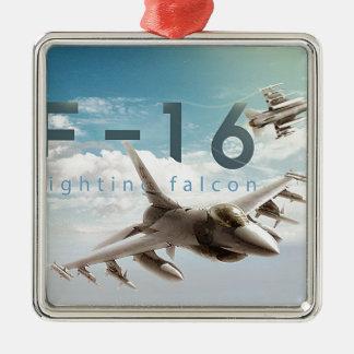F-16戦いの《鳥》ハヤブサ メタルオーナメント