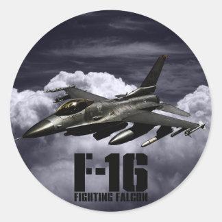 F-16戦いの《鳥》ハヤブサ ラウンドシール