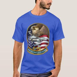F-16戦いの《鳥》ハヤブサ Tシャツ