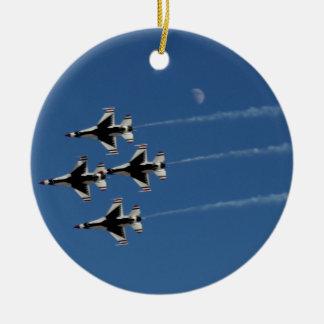 F-16雷鳥の菱形隊形 セラミックオーナメント