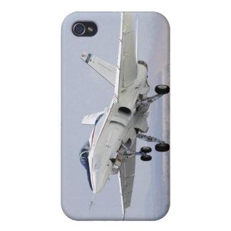 F-18スズメバチのジェット戦闘機の飛行機のiPhoneのケース iPhone 4/4S ケース