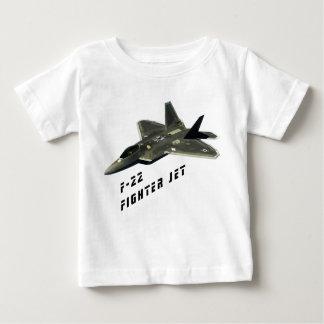 F-22戦闘機、猛禽 ベビーTシャツ