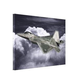 F-22猛禽のキャンバスプリント キャンバスプリント