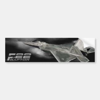 F-22猛禽のバンパーステッカー バンパーステッカー