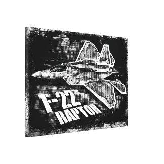 F-22猛禽の0 キャンバスプリント