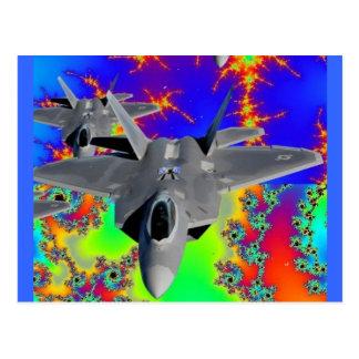 F-22猛禽 ポストカード