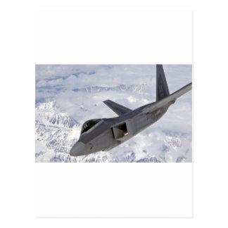 F-22猛禽Elmendorf AFB ポストカード