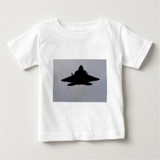 f-22隠しだての戦闘機 ベビーTシャツ