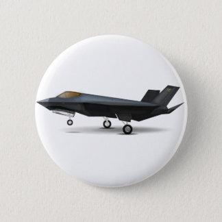 F-22 5.7CM 丸型バッジ