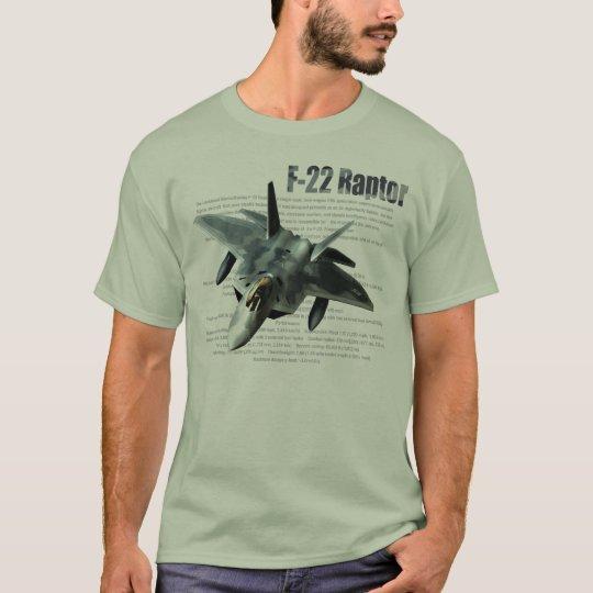 """F-22 Raptor "" T-shirt Tシャツ"