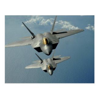 F-22Aの猛禽 ポストカード