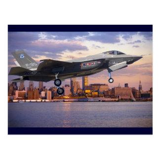 F-35稲妻の戦闘機 はがき