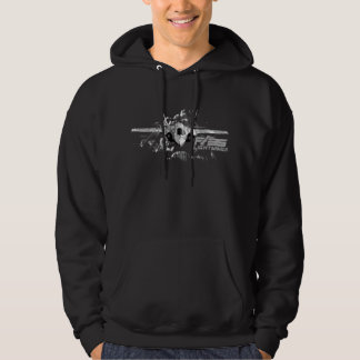 F-35稲妻IIの人の基本的なフード付きのスエットシャツ パーカ