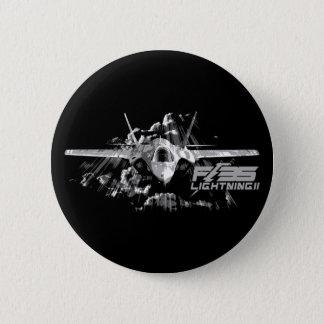 F-35稲妻IIボタン 5.7CM 丸型バッジ