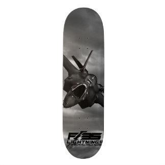 F-35稲妻II 18.1CM オールドスクールスケートボードデッキ