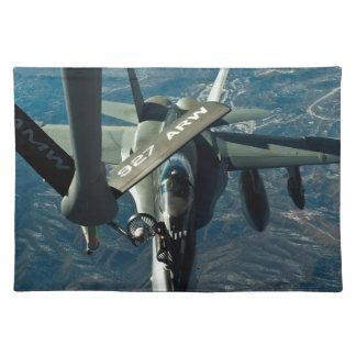 F/A 18の給油 ランチョンマット