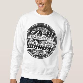 F/A-18スズメバチのスエットシャツのTシャツ スウェットシャツ