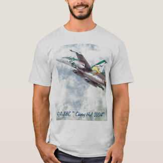 """F/A-18 HORNET, F/A-18C """" Chippy Ho! 2004"""" Tシャツ"""