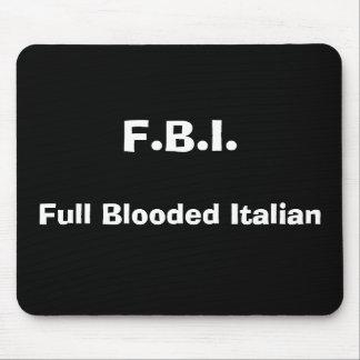 F.B.I.、Bloodedの完全なイタリア語 マウスパッド