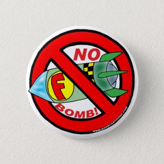 F-BOMBボタン 5.7CM 丸型バッジ
